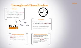Urenregistratie UZK