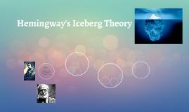 hemingway s iceberg theory by ciara cook on prezi hemingway s iceberg theory