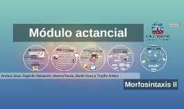 Modulo actancial
