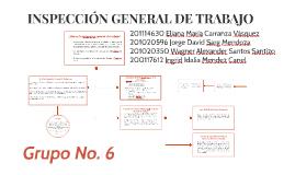 INSPECCIÓN GENERAL DE TRABAJO