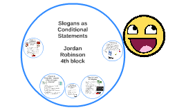 Copy of Slogans as Conditional Statements