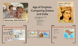 Ancient Greece and India