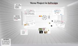 Menu Project in InDesign