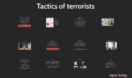 Tactics of terrorism