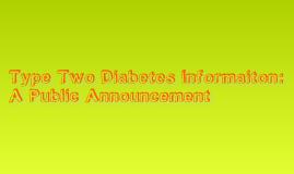 Type 2 Diabetes add