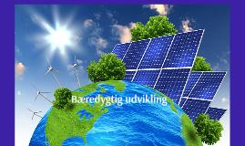Bæredygtig udvikling