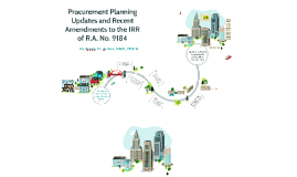 Copy of Procurement Planning Updates and Amendments to the IRR of RA 9184