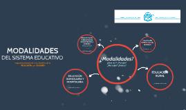 MODALIDADES - CEPRES 2016