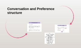 Copy of Conrversation and preference      structure