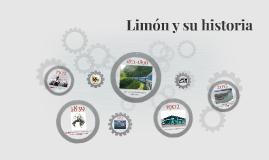 Limón y su historia
