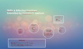Skills & Effective Practices