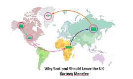 Scotland Should Leave the UK