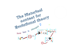 The Historical Contest for Evolutional Theory