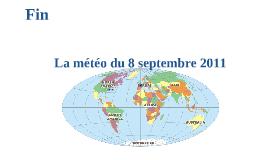 Copy of Français-La Météo Projet