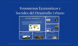 Fenomenos Economicos y Sociales del desarrollo urbano
