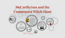 McCarthyism and the Communist Witch Hunt