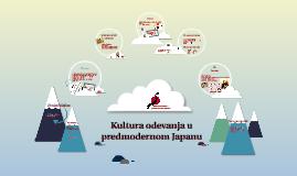 Kultura odevanja u predmodernom Japanu