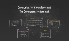 Copy of Copy of Communicative Competencies and