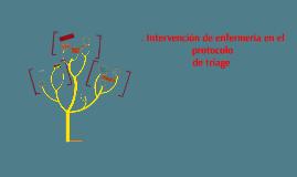 Copy of . Intervención de enfermería en el protocolo
