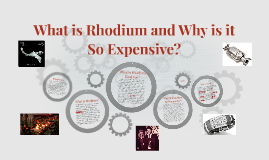 What is Rhodium and Why is it So Expensive?