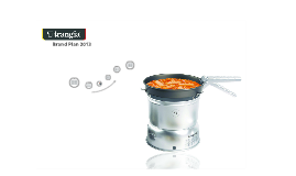 Trangia Brand Plan 2013
