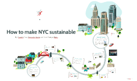 How to make NYC sustainable