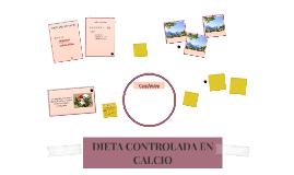 DIETA CONTROLADA EN CALCIO