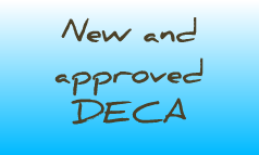 new and approved DECA