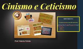 Prof. Márcio Paixão. Cinismo e Ceticismo.