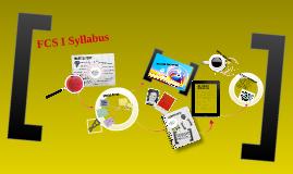 FCS I Syllabus