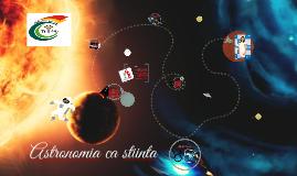 Astronomia ca stiință