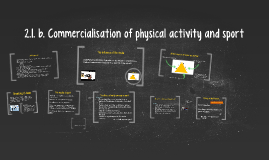 Copy of 2.1. b. Commercialisation of physical activity and sport