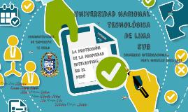 LA PROTECCIÓN DE LA PROPIEDAD INTELECTUAL EN EL PERÚ