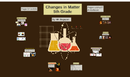 Changes in Matter - 5th Grade