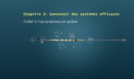 Chapitre 3: Concevoir des systèmes efficaces