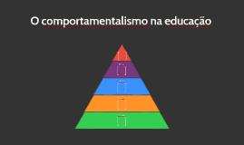 O comportamentalismo na educação