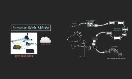 PPE Serveur Web Météo