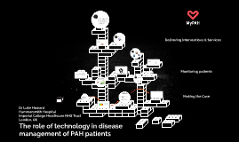 20160906 ERS London The Role of Technology in Disease Management of PAH Patients