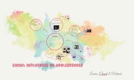 social influences on adolesences