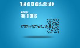 Rules of Order - Jan TLI