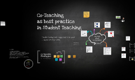 Copy of Co-Teaching Student Teachers