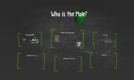 Who is the Mole?