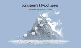 Copy of Krashen's Hypotheses