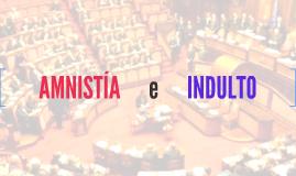 Amnistía e Indulto