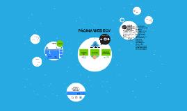 Página web ECV
