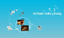 Destilados: Vodka y Brandy.