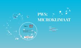 PWS: MICROKLIMAAT