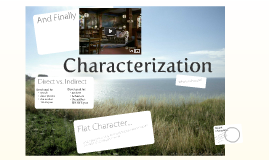 Copy of Characterization