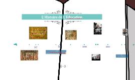 L'Histoire de l' Education