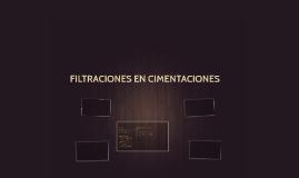 FILTRACIONES EN CIMENTACIONES